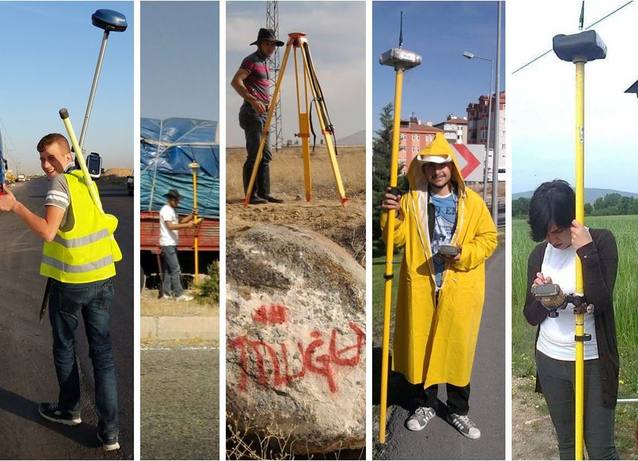 Topographical Land Survey Along proposed Transmission Water Lines In Various Protect  In Mugla