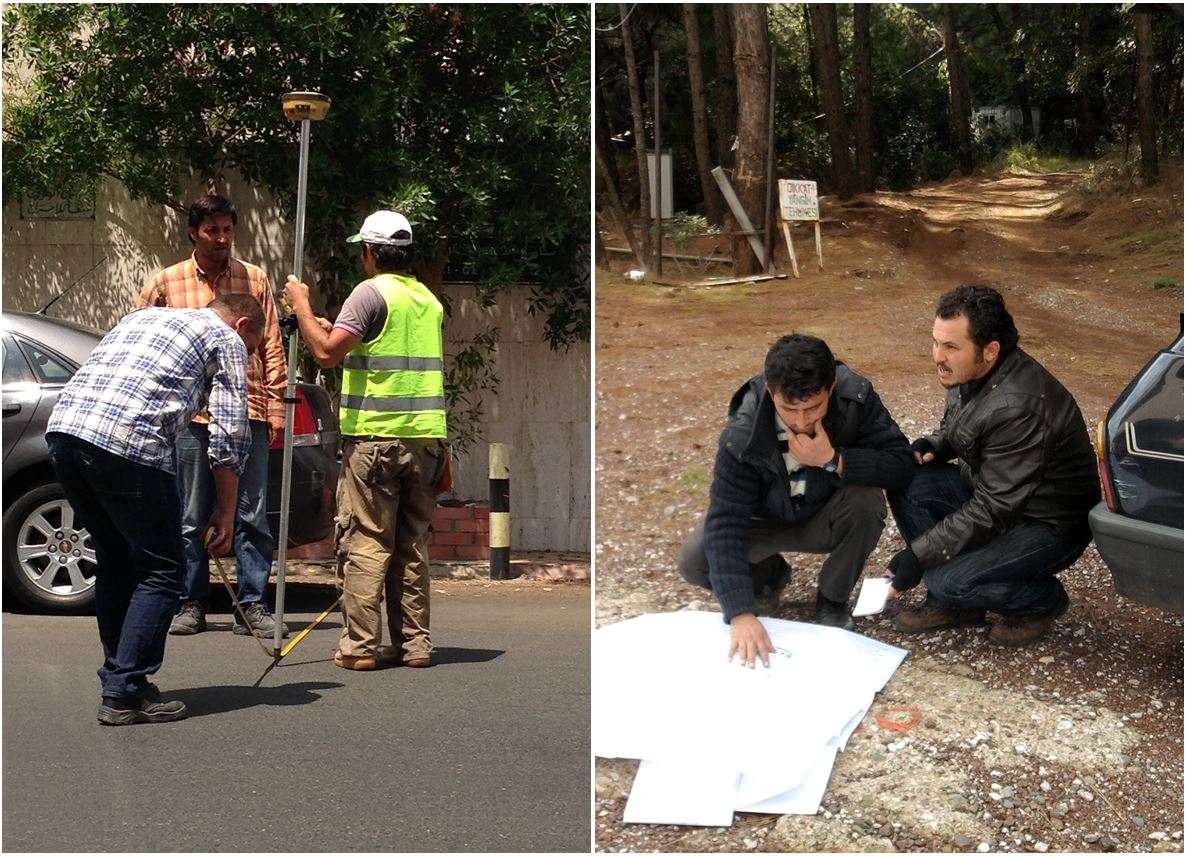 Topographical Land Survey Along Proposed Transmission Water Lines In Various Project