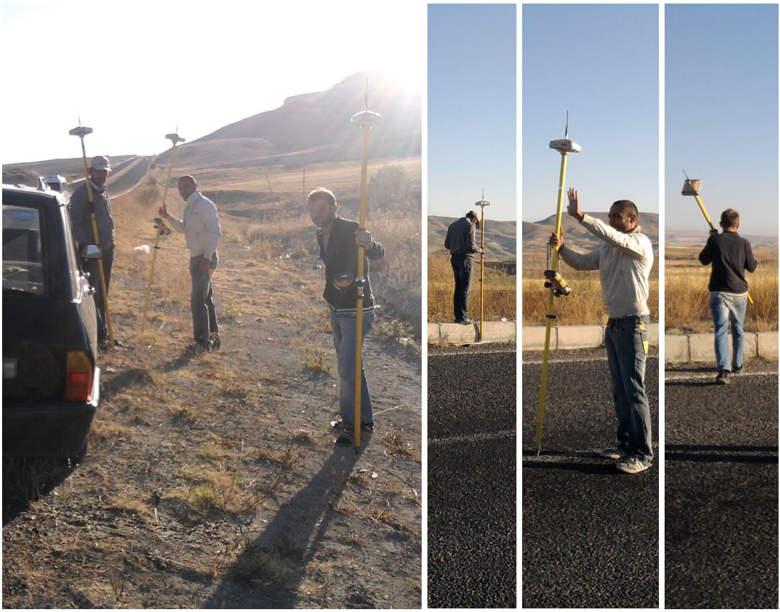 Topographical Land Survey Along Highways In Various Project Locations